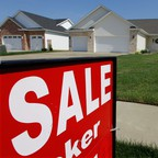 A newly constructed home for sale in Springfield, Illinois.
