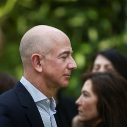 A headshot of Jeff Bezos