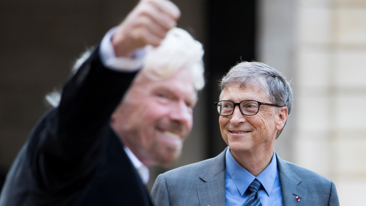 Bill Gates and Richard Branson