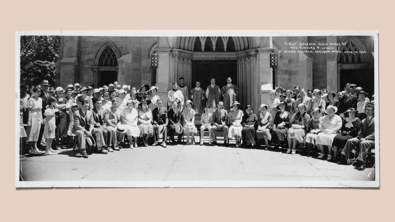 First Solemn High Mass of Rev. Thomas P. Lynch, June 10, 1934