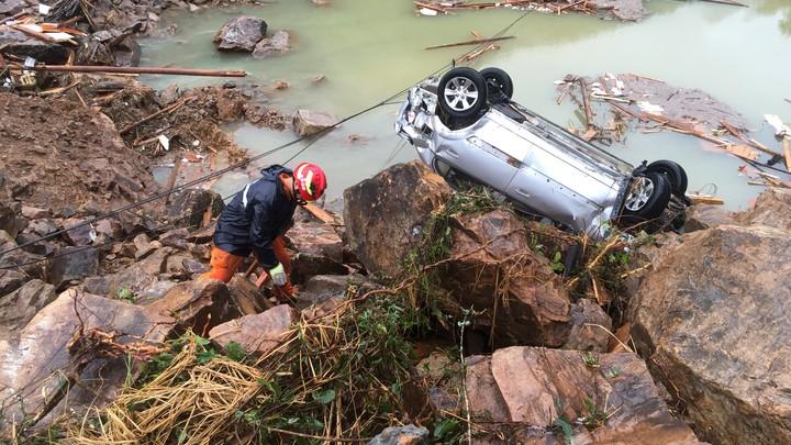 Landslides in China