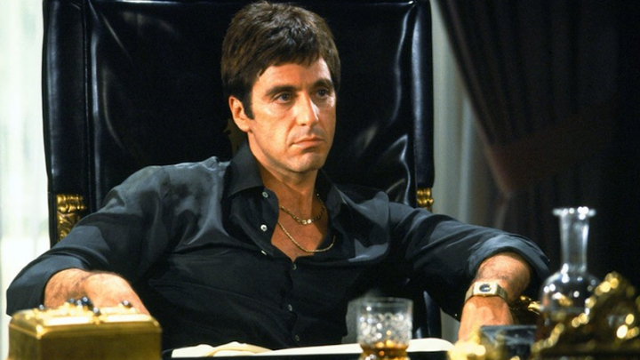Al Pacino in 'Scarface'