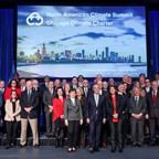World Mayors pose for a group picture