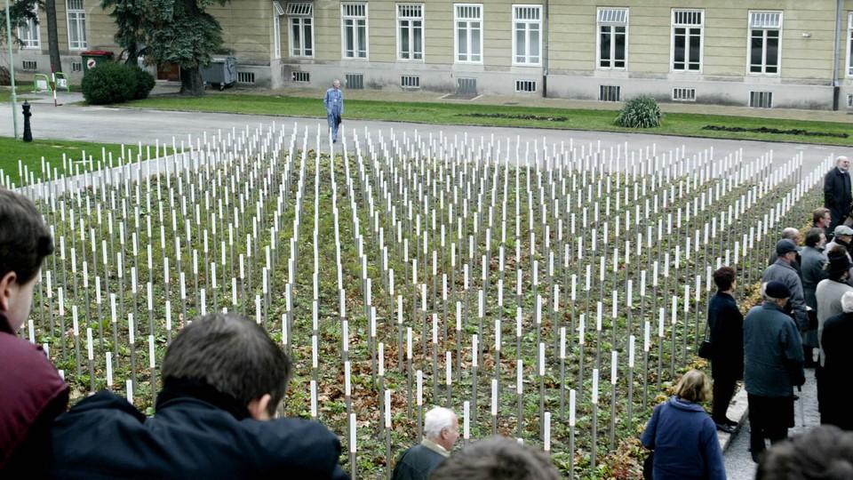 A memorial for children murdered at Am Spiegelgrund
