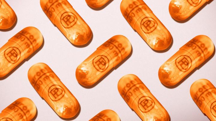 Orange pills