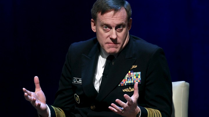 Admiral Michael Rogers, director of the National Security Agency