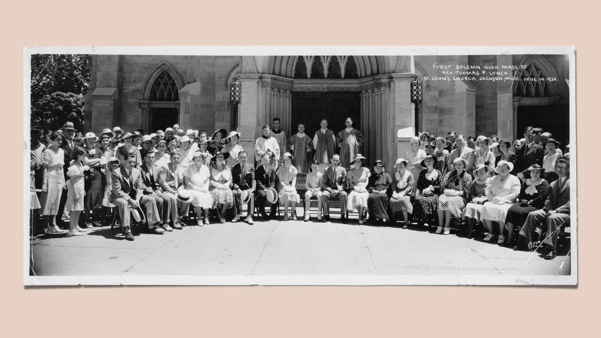 First Solemn High Mass of Rev. Thomas P. Lynch, June 10, 1934