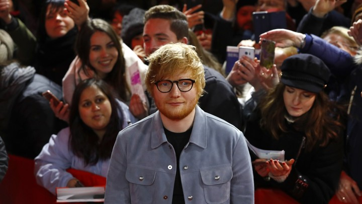 Ed Sheeran at the 68th Berlin International Film Festival Berlinale