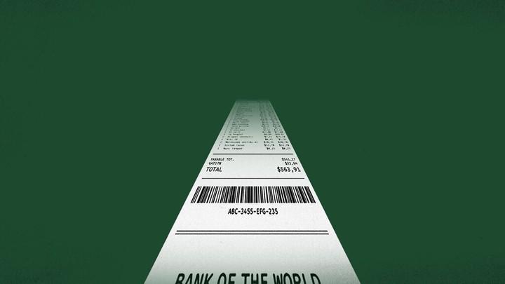 An illustration of a receipt.