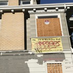 photo: A vacant home in Oakland that is about to demolished for an apartment complex.