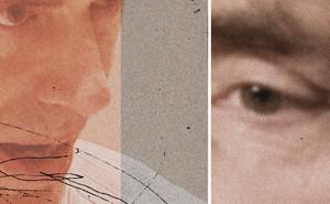 collage photo illustration of Jordan Peterson