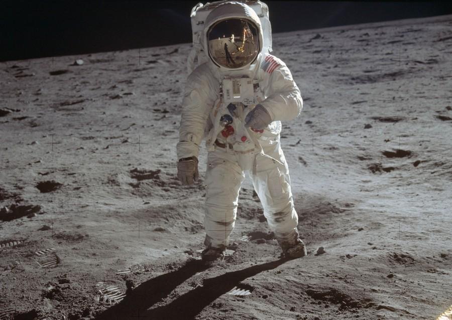 6 Sizes! Man/'s Bootprint on the Moon Apollo 11 Mission New NASA Photo