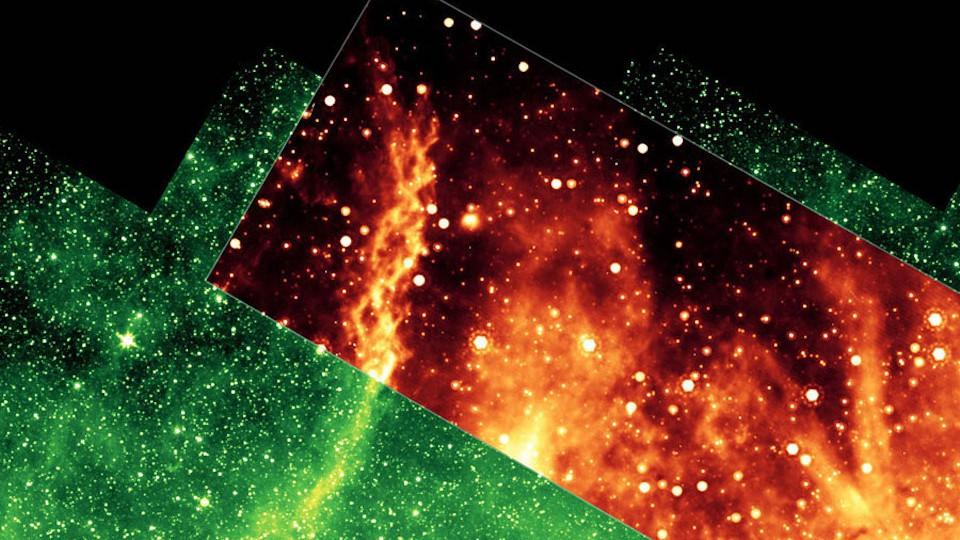 The double helix nebula