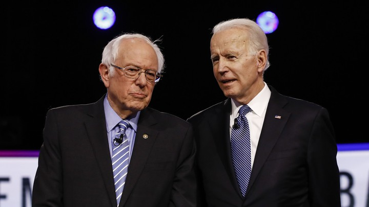 Bernie Sanders and Joe Biden.