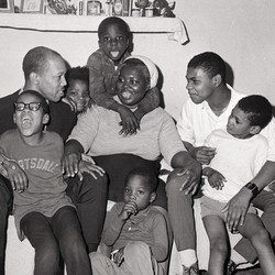 photograph of a family