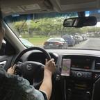 photo: an Uber driver.