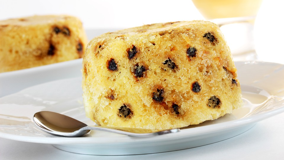 Spotted-dick pudding
