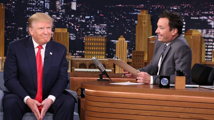 Donald Trump and Jimmy Fallon on 'The Tonight Show'