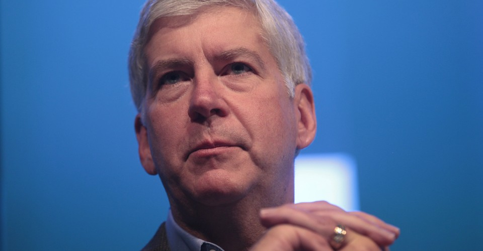 Michigan S Rick Snyder From One Tough Nerd To Embattled Governor The Atlantic