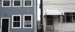 photo: a pair of homes in Pittsburgh