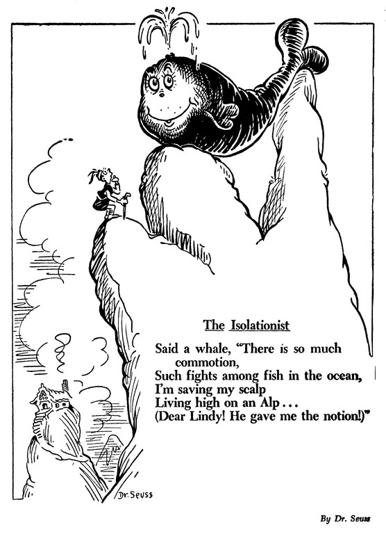 The Complicated Relevance Of Dr Seuss S Political Cartoons The Atlantic