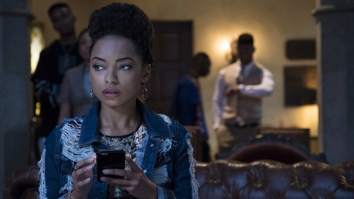 Logan Browning stars as Sam in Justin Simien's Netflix series 'Dear White People'