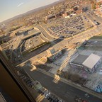 photo: an aerial view of downtown Hartford, CT