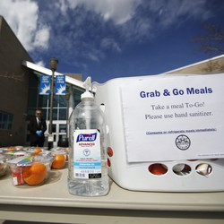 The Aurora Public Library in Colorado offers free lunches for people under 18