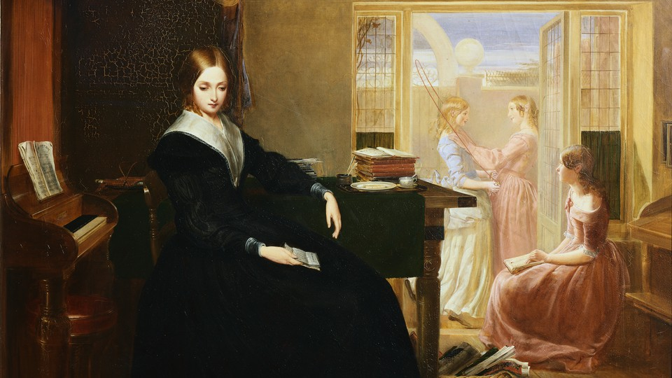 'The Governess,' a painting by Richard Redgrave