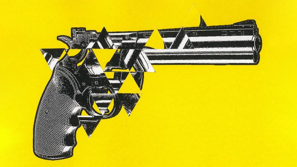 An illustration of a gun.