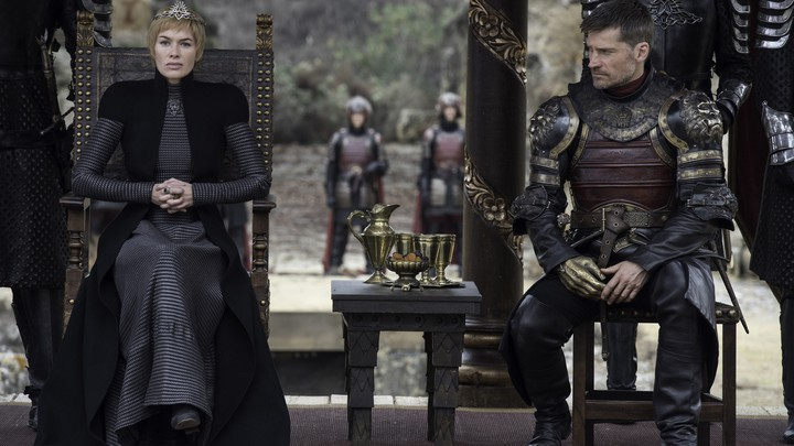 Lena Headey and Nikolaj Coster-Waldau in 'Game of Thrones'
