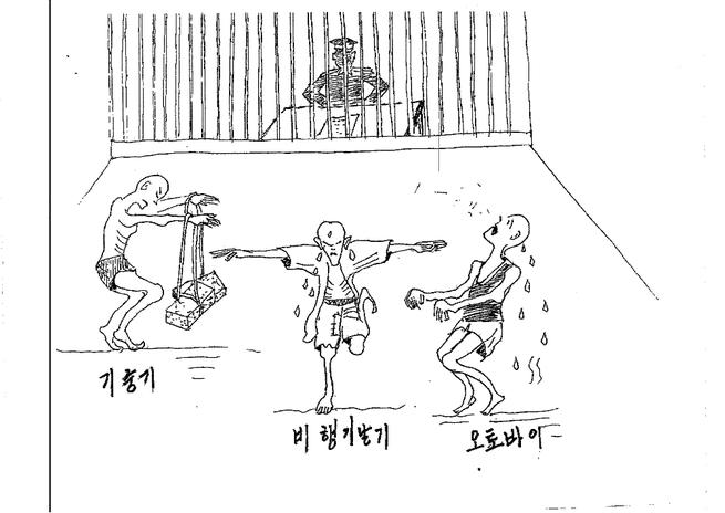 Drawing torture Bondage 3D