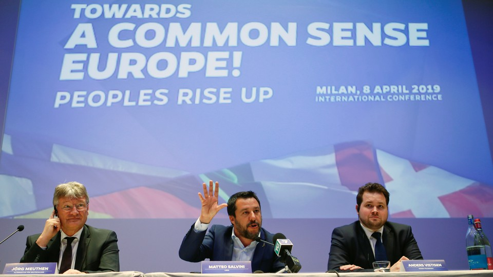 Euroskeptic politicians from Germany, Italy, Denmark, and Finland announced a continent-wide alliance of far-right parties.