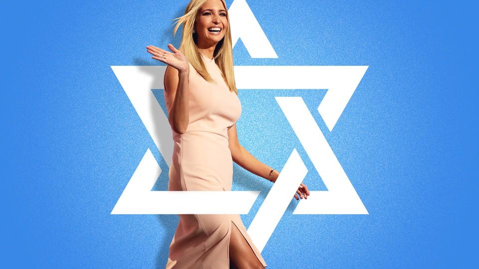 Ivanka Trump and a Star of David