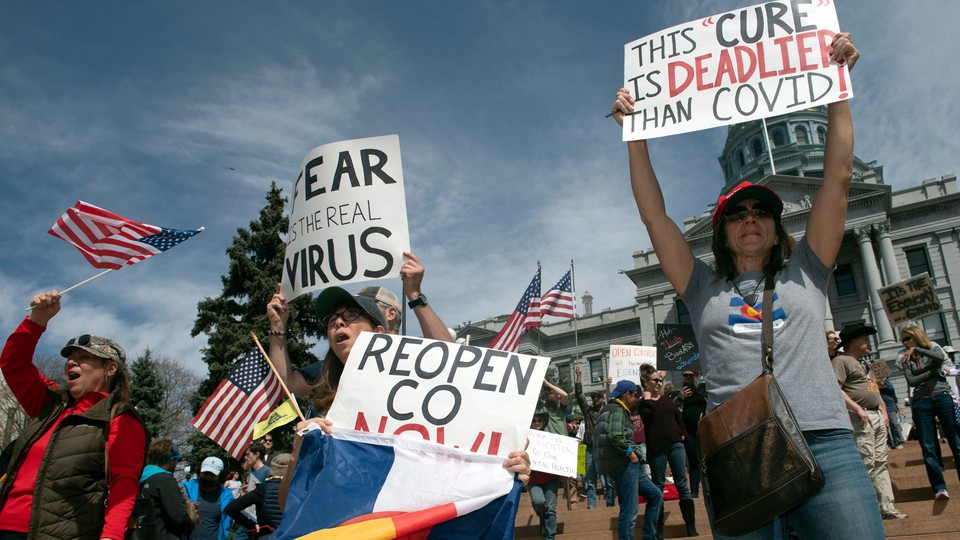 Protesters calling for Colorado to reopen
