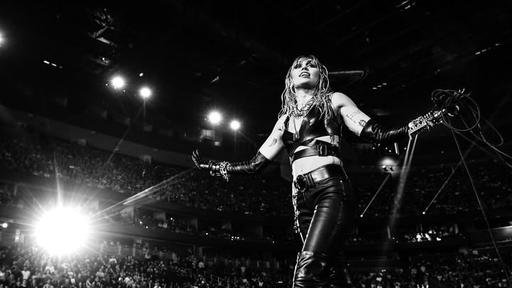 Miley Cyrus in concert