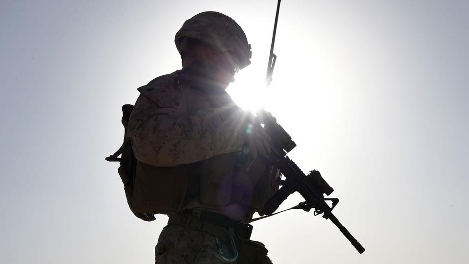 A U.S. soldier