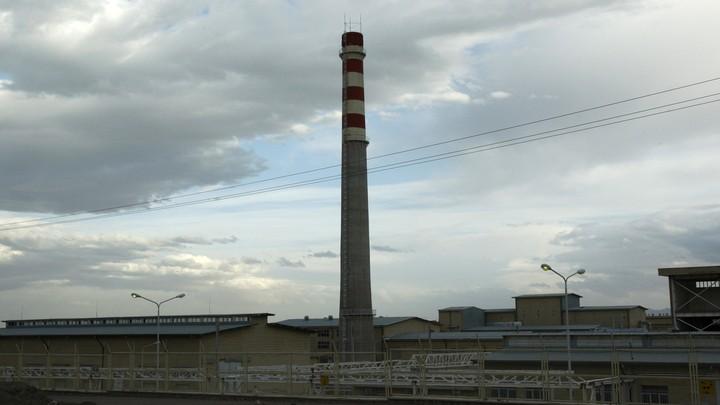 A uranium-enrichment facility