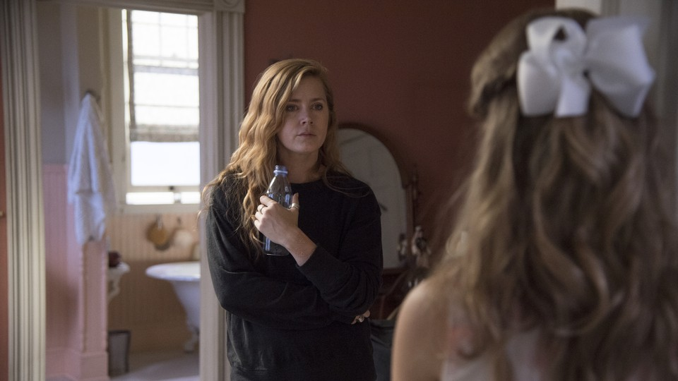 Camille Preaker (Amy Adams) and Amma Crellin (Eliza Scanlen) in a scene from the HBO miniseries 'Sharp Objects'