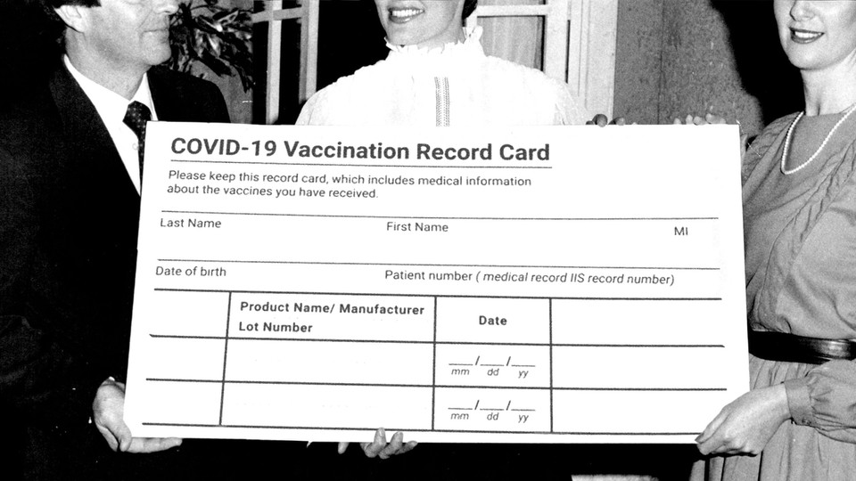 The Vaccine Cards Are the Wrong Size