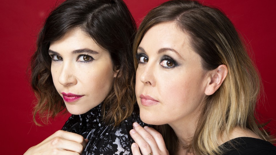 Carrie Brownstein and Corin Tucker