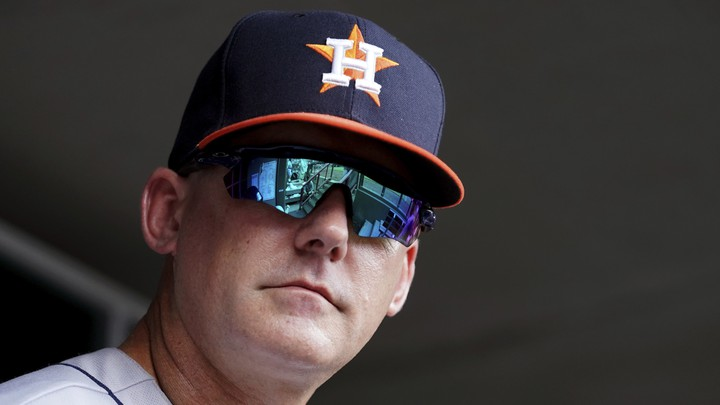 The fired Houston Astros manager A.J. Hinch