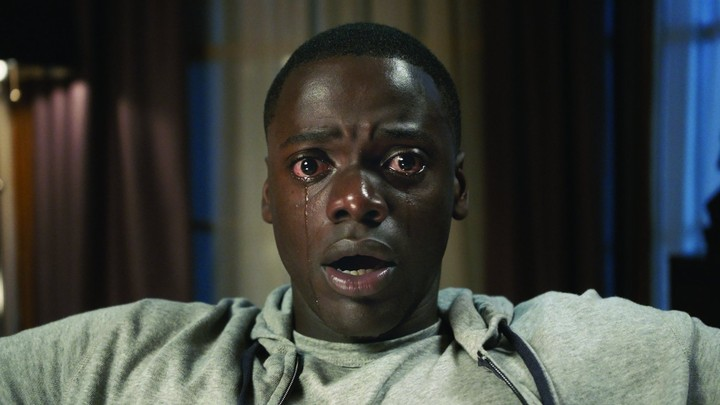 A shot of Daniel Kaluuya as Chris Washington in the film 'Get Out'