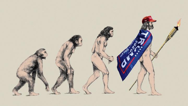 Evolution of Man into insurrectionist