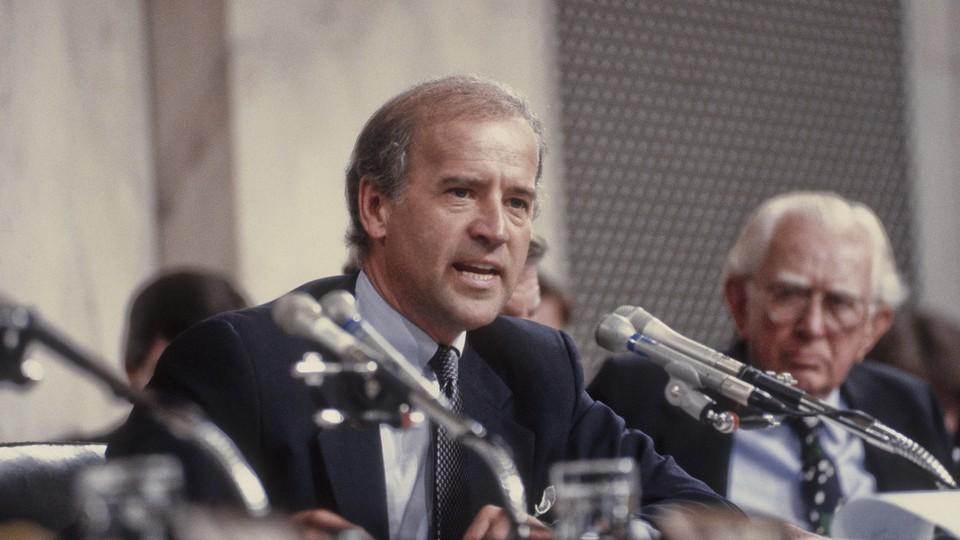 Joe Biden in 1991.