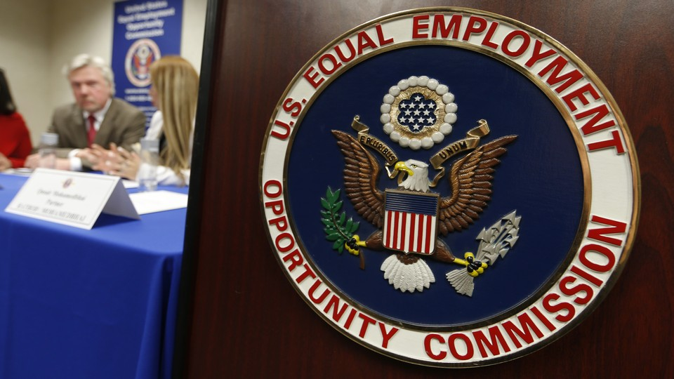 A seal for the Equal Employment Opportunity Commission