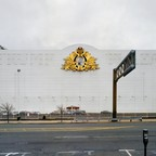 The facade of a casino in Atlantic City.