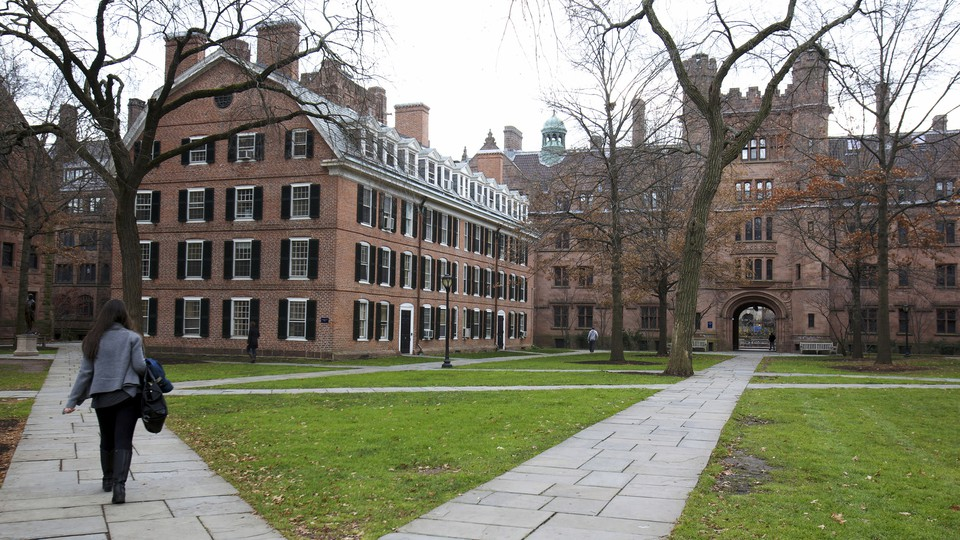 The campus of Yale University