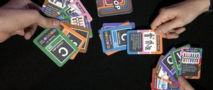 A photo of the LOOP card game