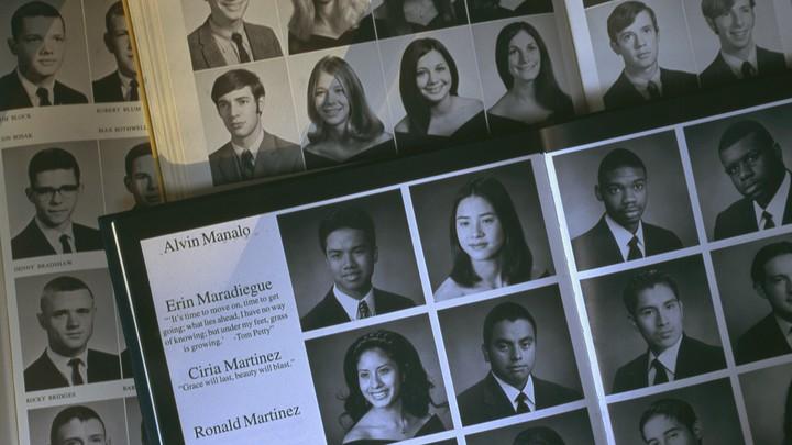 High-school yearbooks